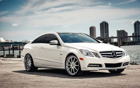 auto, Mercedes, sea, Mercedes-Benz, car