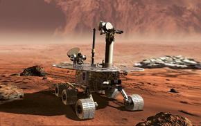 Обои космос, космос, марс - 3., марсоход