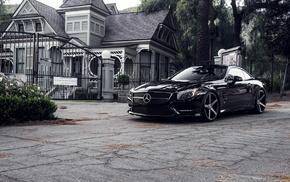 cars, Mercedes-Benz, black