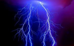 nature, stunner, lightning, beautiful, sky