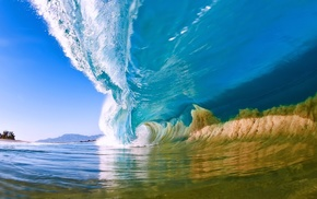 surf, waves, nature