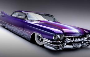 background, cars, auto, flame, purple