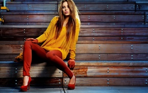 girls, style, model