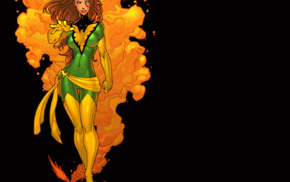 X, Men, superheroines, phoenix, Jean Grey