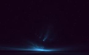 stars, space, night, sky