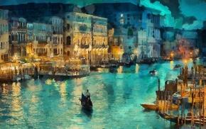 people, berth, stunner, boat, evening