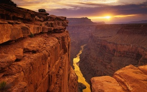 height, stone, landscape, view, canyon