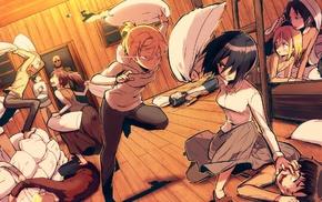 Mikasa Ackerman, Leonheart Annie, Renz Christa, Blouse Sasha, Armin Arlert, anime