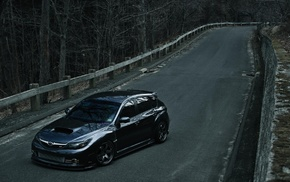 road, sports car, Subaru, WRX STI, car, Subaru Impreza
