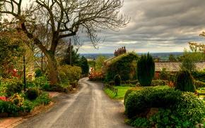 stunner, houses, landscape, street