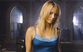 blonde, Kaley Cuoco, actress