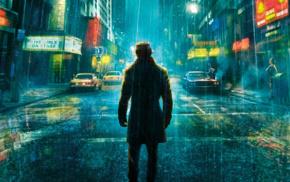 Watchmen, rain, Rorschach