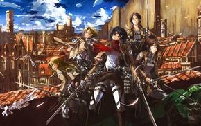 Shingeki no Kyojin, Mikasa Ackerman, anime girls, anime, Blouse Sasha