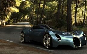 futuristic, Bugatti concept