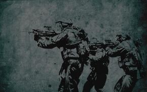 векторы, солдат
