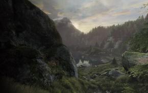 игры, пейзаж