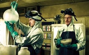 gas masks, Heisenberg, Jessie Pinkman, Walter White, anime, TV