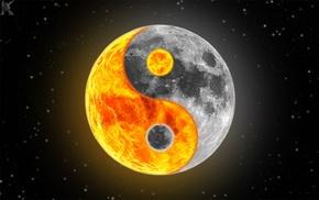 луна, звезды