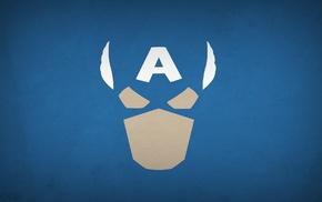 superhero, Blo0p, Captain America, minimalism, heroes