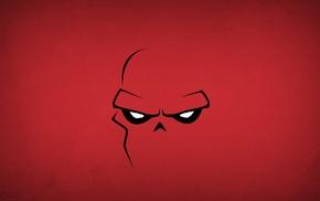 minimalism, Blo0p, Red Skull