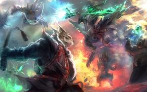 creature, fighting, Dota 2, Clash, warrior