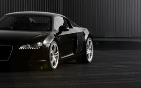 black, white, cars, background, sportcar