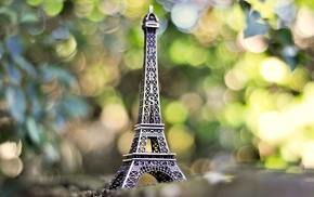 minimalism, Paris, Eiffel Tower, photo, nature