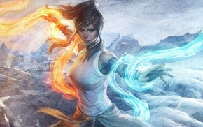 drawing, The Legend of Korra, Korra, artwork, Artgerm