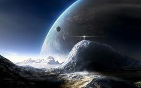 космический арт, космос, планета