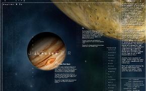 infographics, planet, Jupiter