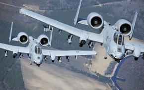 A-10, поля, США, ВВС, разведчик, штурмовик