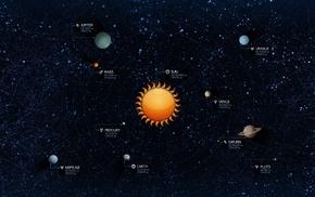 space, Solar System, planet, Vladstudio