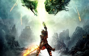fantasy art, artwork, Bioware, video games, RPG, Dragon Age