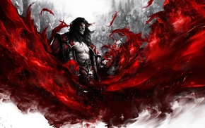 Dracula, Castlevania, blood, Castlevania Lords of Shadow, vampires, video games