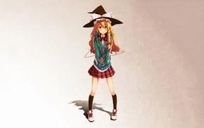 anime girls, Kirisame Marisa, Touhou