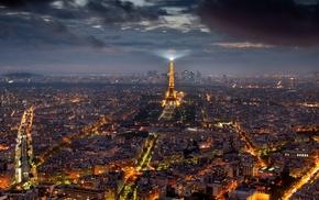 городской пейзаж, Франция, Париж, Эйфелева башня