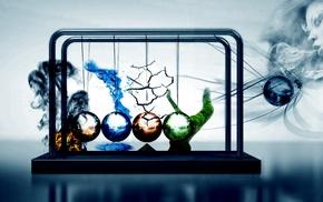 вода, наука, огонь, Земля, природа