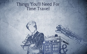 TARDIS, time travel, The Doctor, Eleventh Doctor, Doctor Who