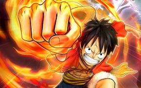 One Piece, Monkey D. Luffy, anime