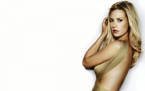 side view, white background, back, blonde, January Jones
