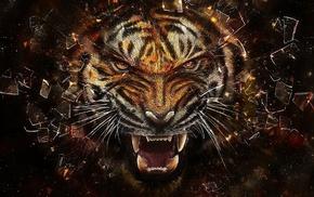 3D, tiger