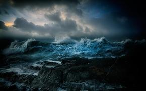 sea, Storm character