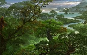 stunner, beautiful, fantasy, dragon, nature