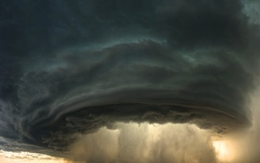 storm, supercell nature