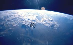 космос, атмосфера, Земля