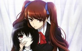 anime, Akazawa Izumi, anime girls, Misaki Mei, Another, school uniform
