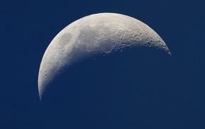 space, moon, satellite, light