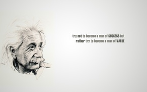 Albert Einstein, quote