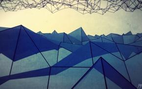 абстрактные, треугольник